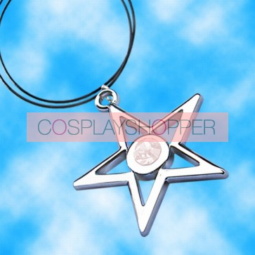 White Vocaloid Anime Necklace