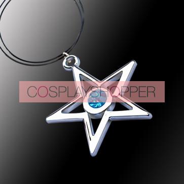 Blue Vocaloid Anime Necklace