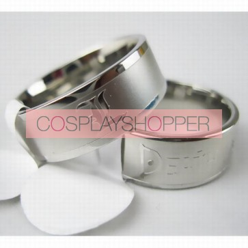 Death Note Silver Cosplay Ring