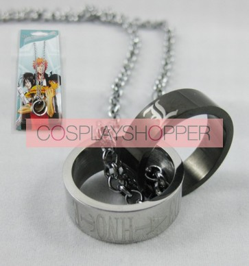 Death Note Cosplay Ring Necklace