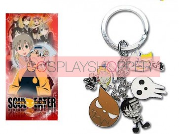 Soul Eater Alloy Cosplay Key Chain
