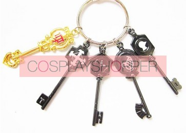 Fairy Tail Cosplay Key Chain