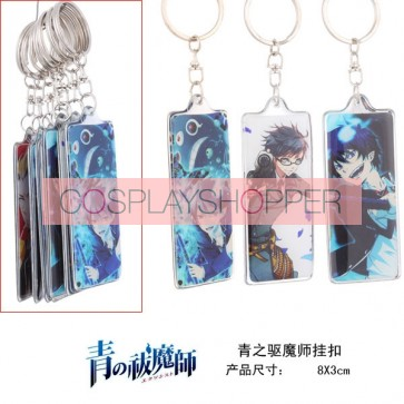 Ao no Exorcist Alloy Cosplay Key Chain 5 Set