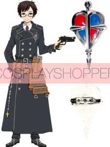 Ao no Exorcist Alloy Cosplay Breastpin