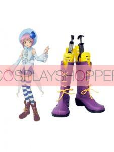 Shugo Chara Miki Imitation Leather Cosplay Boots