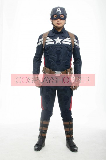 Captain America: The Winter Soldier Cosplay Costume