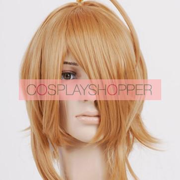 Caramel Blonde Ritsu Tainaka Cosplay Wig