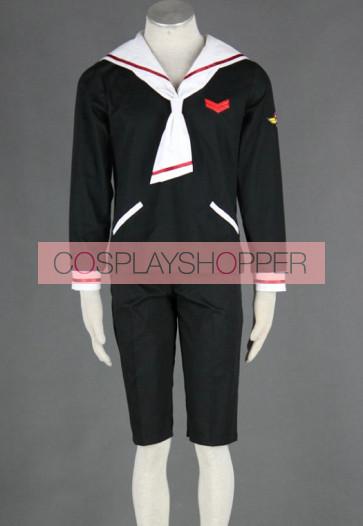 Cardcaptor Sakura Boys Winter Uniform Cosplay Costume