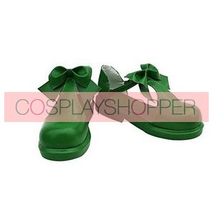 Cardcaptor Sakura Sakura Kinomoto Green Cosplay Shoes