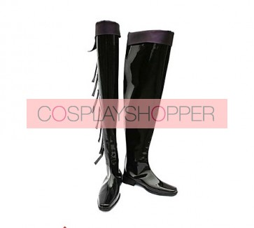 Castlevania Isaac Imitation Leather Cosplay Boots