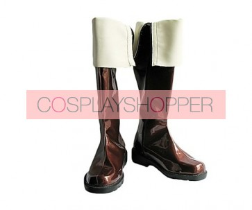 Castlevania Richter Belmont Brown Cosplay Boots