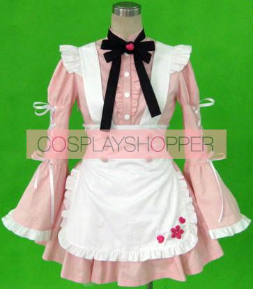 Cherry Snow Cosplay Maid Costume
