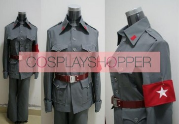 Axis Powers Hetalia China Wang Yao Cosplay Uniform