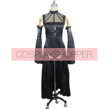 Chobits Freya Black Cosplay Costume Dress