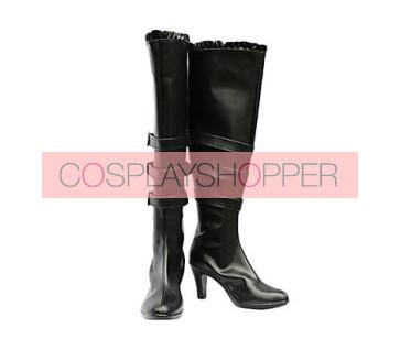 Chobits Freya Black Cosplay Boots