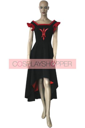Chobits Freya Black & Red Cosplay Costume Dress