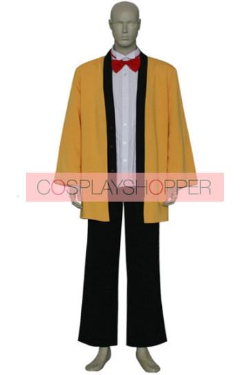 Chobits Hideki Cosplay Costume Yellow Suit