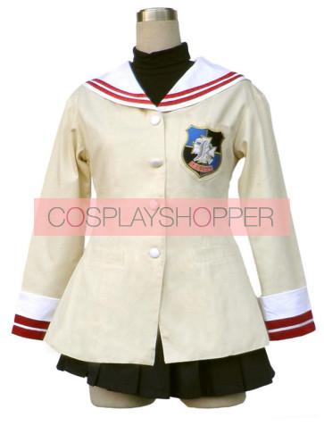Clannad High School Senior Uniform Cosplay Costume