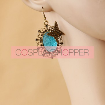 Classic Bow Handmade Lady Lolita Earrings