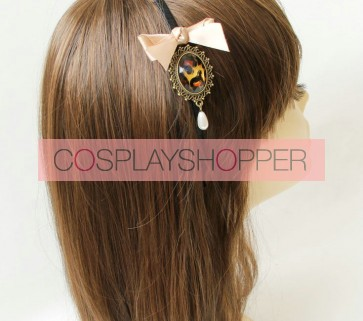 Classic Bow Lady Handmade Lolita Headband