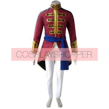 Code Geass Gilbert G.P. Guilford Cosplay Costume