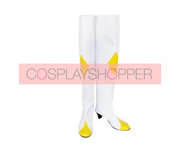 Code Geass C.C. Imitation Leather Rubber Cosplay Boots