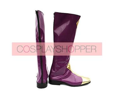 Code Geass Zero Purple Cosplay Boots