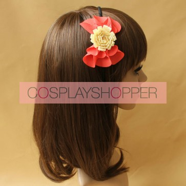Concise Floral Handmade Girls Lolita Headband