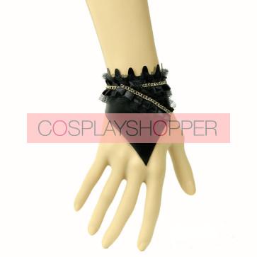 Concise Sexy Black Fashion Lady Lolita Wrist Strap