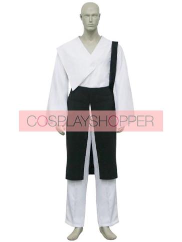 Naruto Shippuden Hyuuga Neji Cosplay Costume - 2nd Edition