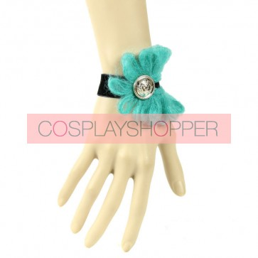 Cute Floral Button Girls Lolita Wrist Strap