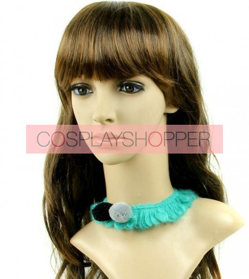 Cute Green Girls Lolita Necklace