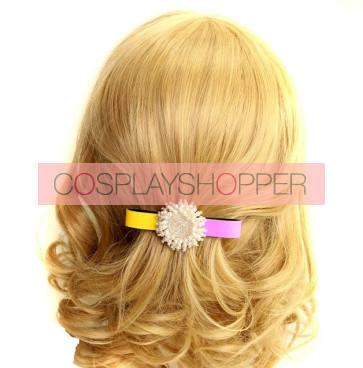 Cute Sunflower Beads Girls Lolita Hairpin
