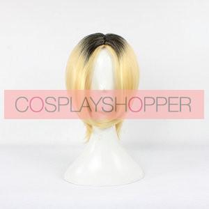 Golden and Black 40cm Haikyu!! Kenma Kozume Cosplay Wig
