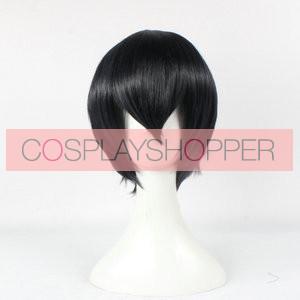 Black 35cm Haikyu!! Kageyama Tobio Cosplay Wig