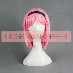 Pink 40cm Brynhildr in The Darkness Kazumi Schlierenzauer Cosplay Wig