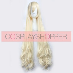 Golden 120cm Kagerou Project Marry Kozakura Cosplay Wig