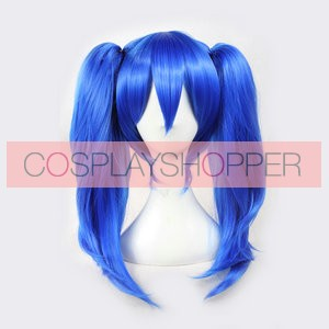 Blue 50cm Kagerou Project Ene/Takane Enomoto Cosplay Wig