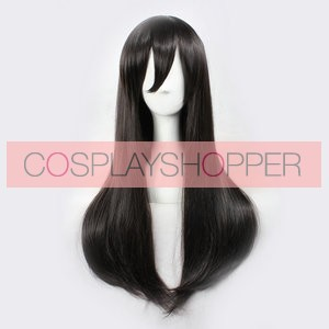 Black 65cm Kagerou Project Ayano Tateyama Cosplay Wig