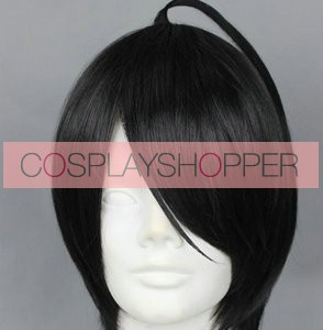 Black 32cm Brothers Conflict Azusa Asahina Cosplay Wig