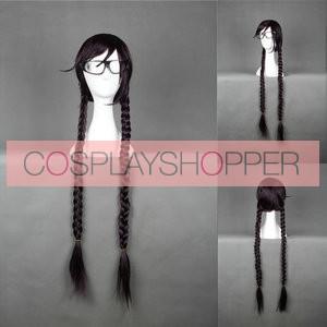 Dark Purple 90cm Danganronpa: Trigger Happy Havoc Touko Fukawa Cosplay Wig