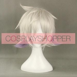 Silver 35cm Karneval Nai Cosplay Wig