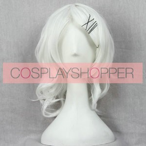 Silver 45cm Tokyo Ghoul Jyuzo Suzuya Cosplay Wig
