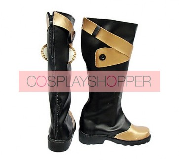 D.Gray Man Klaud Nine Cosplay Boots