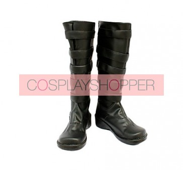 D.Gray Man Lavi II Imitation Leather Cosplay Boots