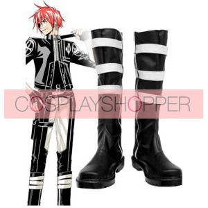 D.Gray Man Lavi III Imitation Leather Cosplay Boots