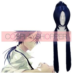 Dark Blue 55cm Katekyo Hitman Reborn Rokudo Mukuro Cosplay Wig
