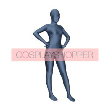 Dark Grey Lycra Spandex Unisex Zentai Suit