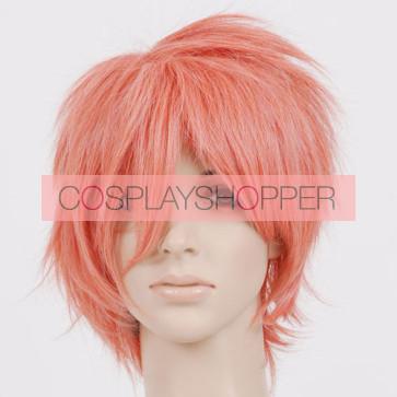 Dark Pink Len Cosplay Wig