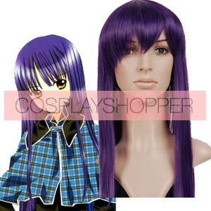 Dark Purple 80cm Shugo Chara Fujisaki Nagihiko Cosplay Wig